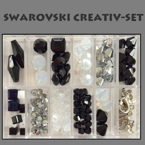 Swarovski CREATIV-SET Black and White