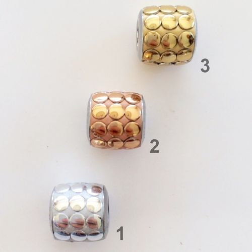 Swarovski BeCharmed Pave polished, 9 x 8 mm