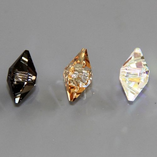 Swarovski Double Spike Perlen, 12 x 6 mm