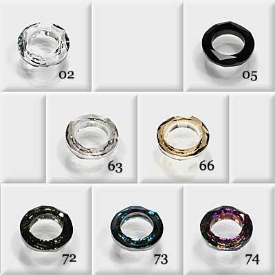 Swarovski Cosmic Ring, 14 mm