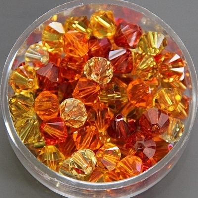 MIX-GELB Swarovski 6 mm