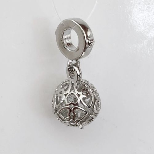 Charms 925 Sterling Silber, 10 mm