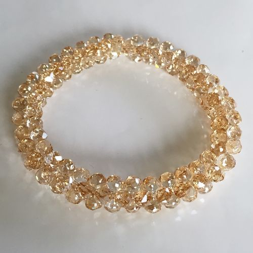 Armband Swarovski Modular Bead, golden shadow